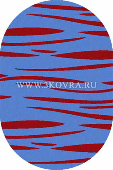 Ковер Shaggy ultra s608 blue-red