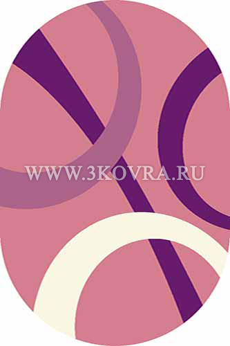 Ковер Vision deluxe v810 pink oval