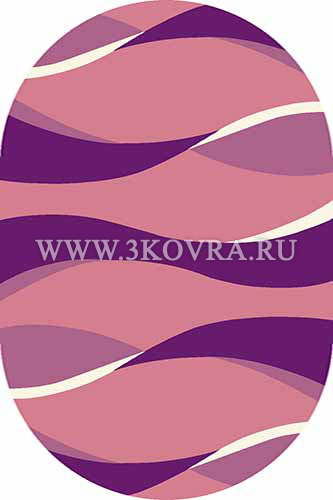 Ковер Vision deluxe v811 pink oval